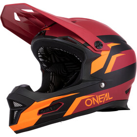 O'Neal Fury RL Kask rowerowy, stage-red/orange